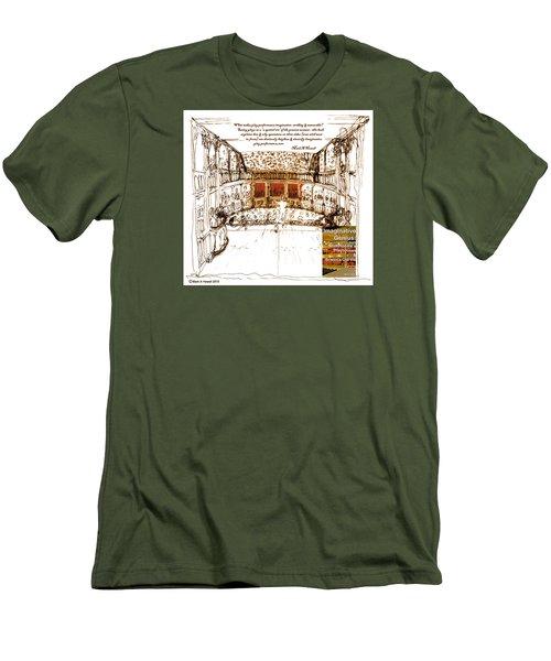 Imaginitive Genius V4 Men's T-Shirt (Athletic Fit)