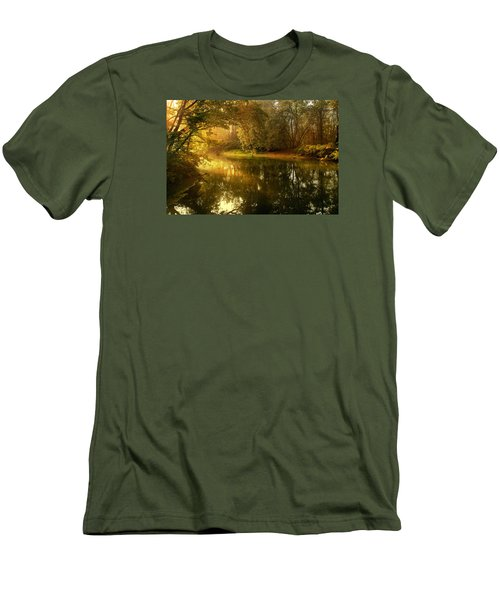 In His Presence Men's T-Shirt (Slim Fit) by Rob Blair