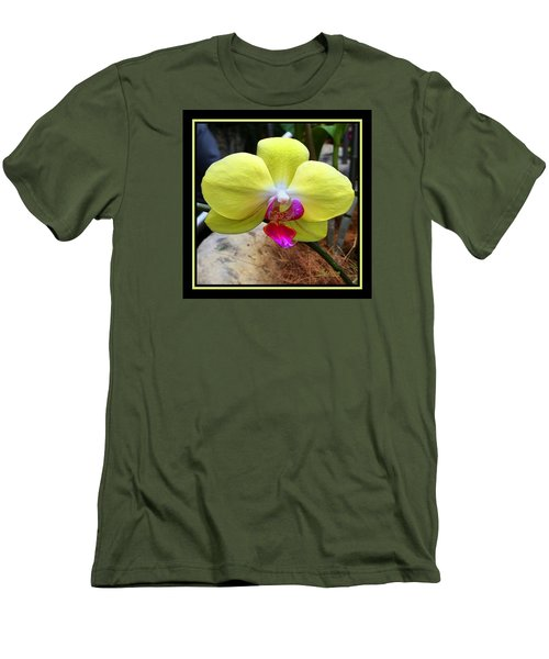 Men's T-Shirt (Slim Fit) featuring the photograph In Living Color by Steven Lebron Langston