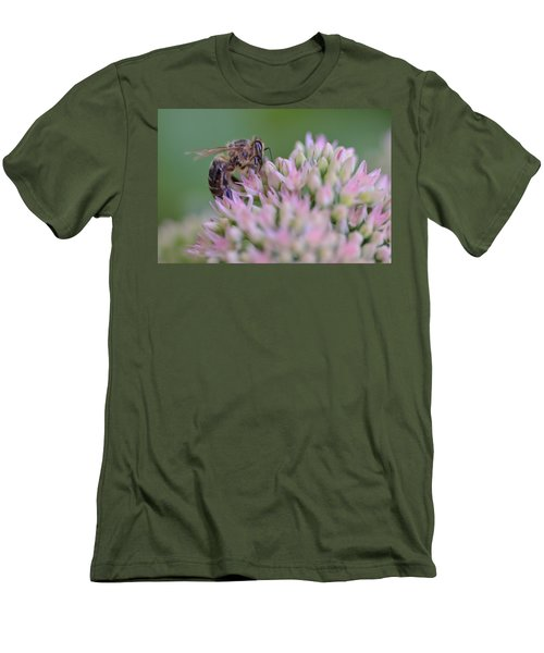 In Search Of Nectar Men's T-Shirt (Slim Fit) by Janet Rockburn