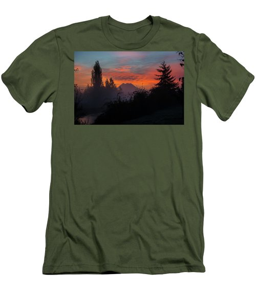 Men's T-Shirt (Athletic Fit) featuring the photograph In The Beginning by Tikvah's Hope