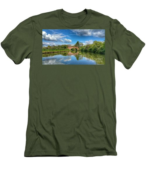 In The Dream Men's T-Shirt (Slim Fit) by Isabella F Abbie Shores FRSA