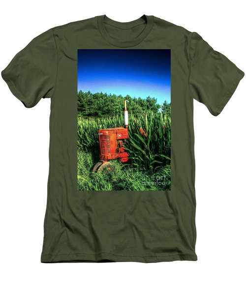 In The Midst Men's T-Shirt (Slim Fit) by Randy Pollard