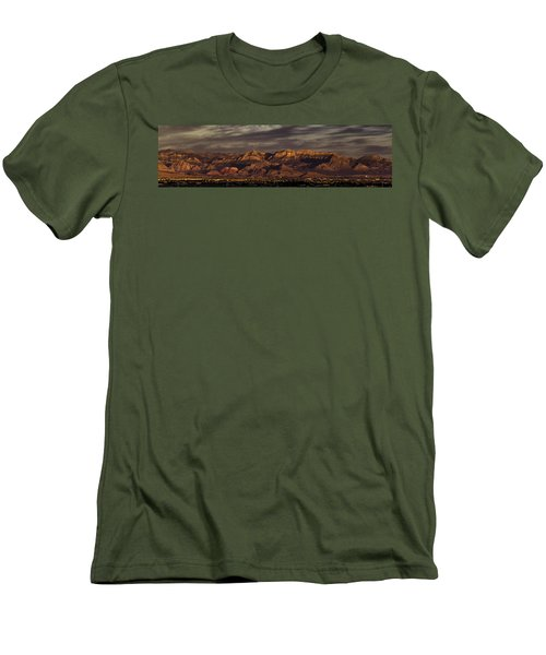 In The Morning Light Men's T-Shirt (Slim Fit) by Ed Clark
