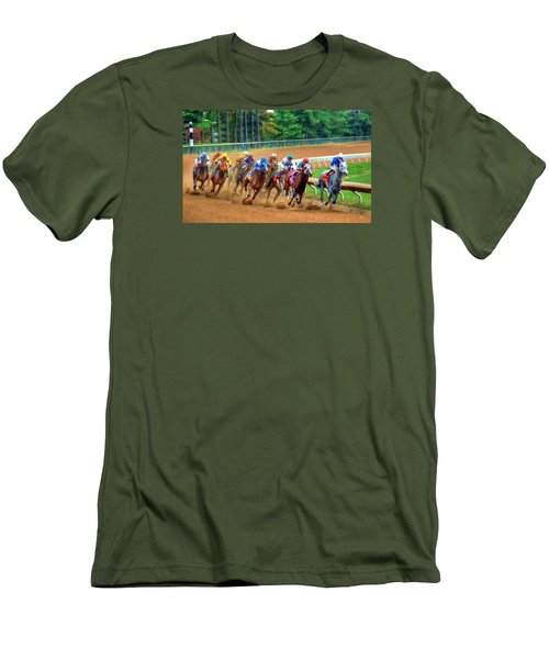 In The Turn #2 Men's T-Shirt (Athletic Fit)