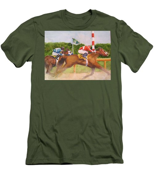 In The Turn Men's T-Shirt (Athletic Fit)