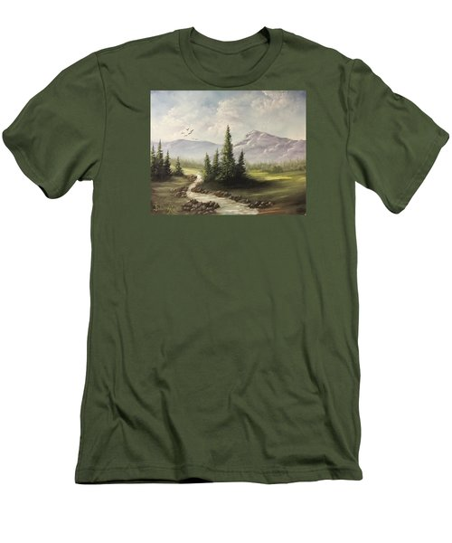 In The Valley  Men's T-Shirt (Athletic Fit)