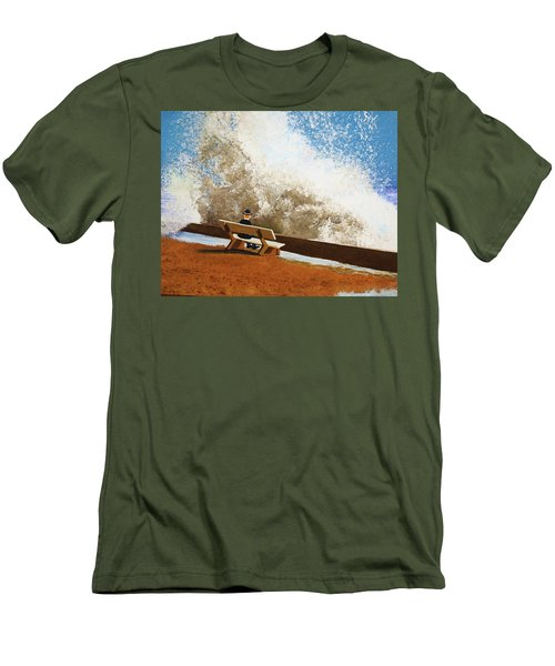 Incoming Men's T-Shirt (Slim Fit) by Thomas Blood