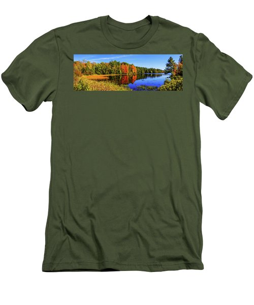 Men's T-Shirt (Slim Fit) featuring the photograph Incredible Pano by Chad Dutson