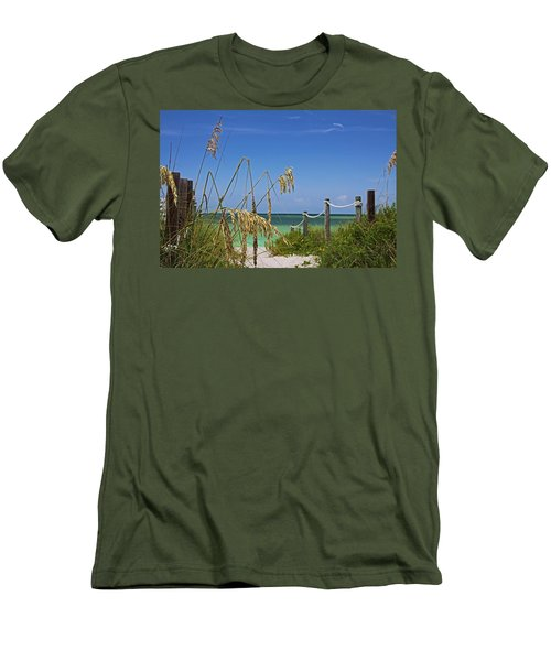 Men's T-Shirt (Athletic Fit) featuring the photograph Indulging In Memories by Michiale Schneider