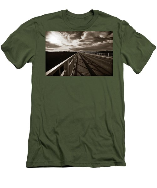 Men's T-Shirt (Slim Fit) featuring the photograph Infinity by Marilyn Hunt