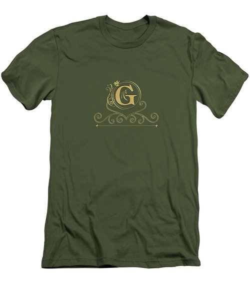 Initial G Men's T-Shirt (Athletic Fit)