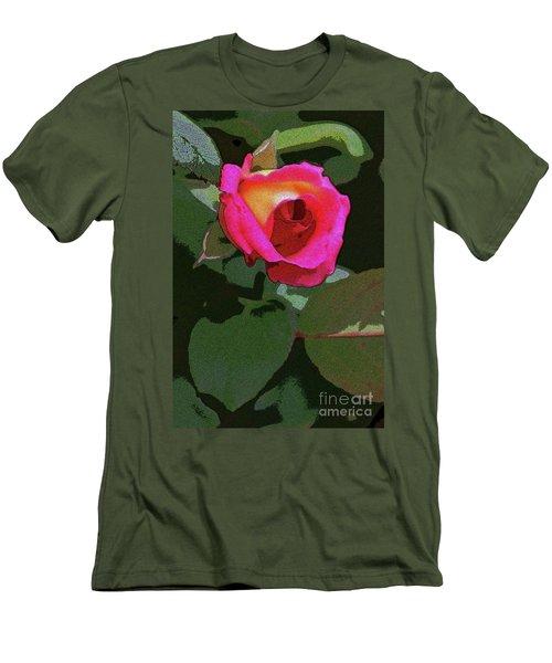 Inner Rose Men's T-Shirt (Slim Fit) by Craig Wood