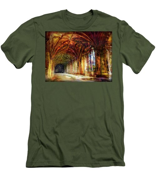 Inside 2 - Transit Men's T-Shirt (Slim Fit) by Alfredo Gonzalez