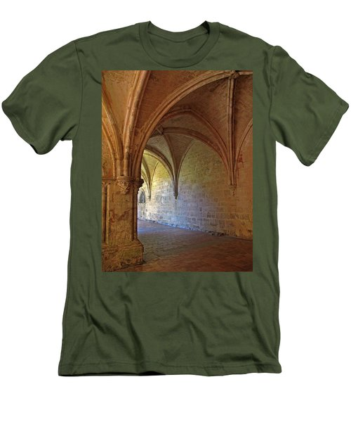 Inside A Monastery Dordogne France  Men's T-Shirt (Athletic Fit)