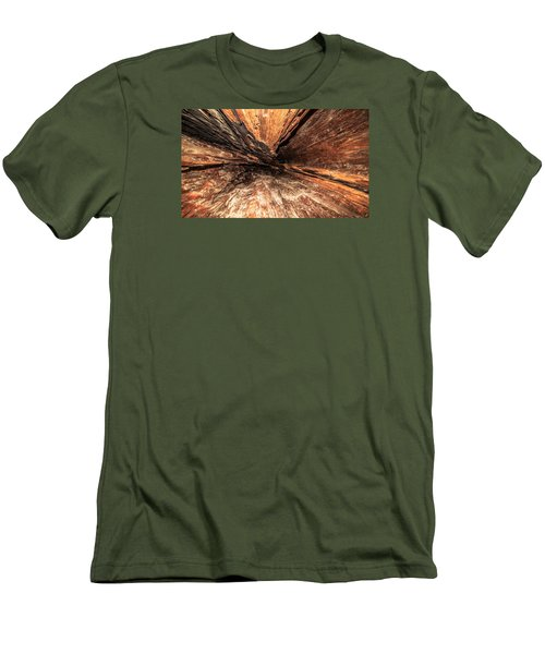 Inside A Tree Men's T-Shirt (Athletic Fit)