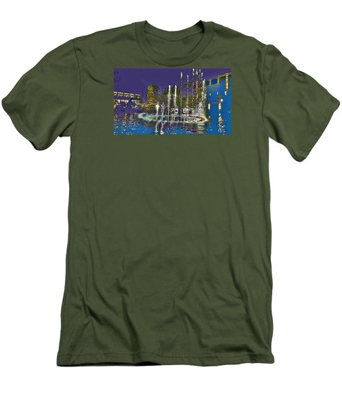 inside the heart of Glendale - 200,000 hearts beat Men's T-Shirt (Athletic Fit)