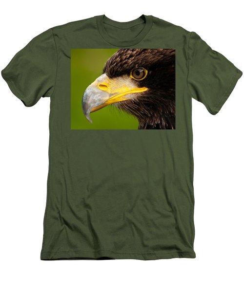 Intense Gaze Of A Golden Eagle Men's T-Shirt (Athletic Fit)