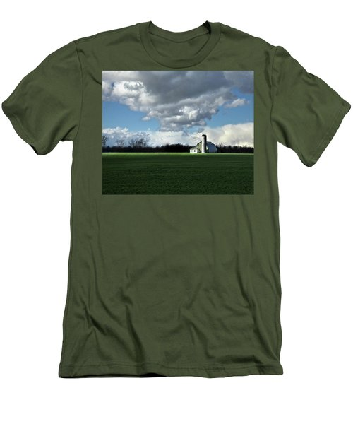 Men's T-Shirt (Slim Fit) featuring the photograph Interlude by Robert Geary