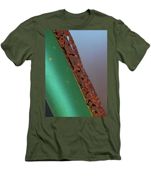 Men's T-Shirt (Slim Fit) featuring the photograph International Green by Susan Capuano