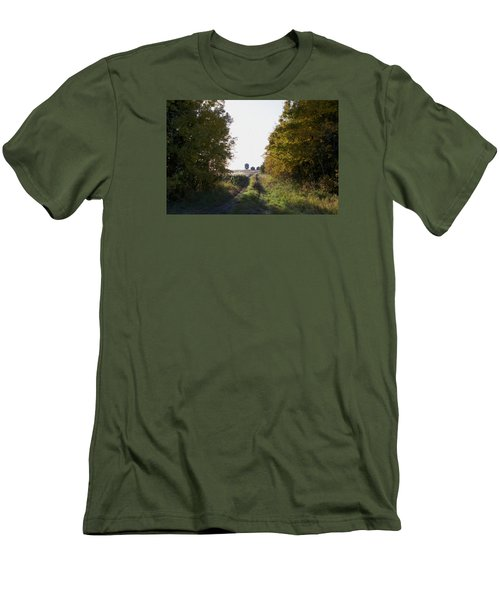 Into The Fields Men's T-Shirt (Slim Fit) by Ellery Russell