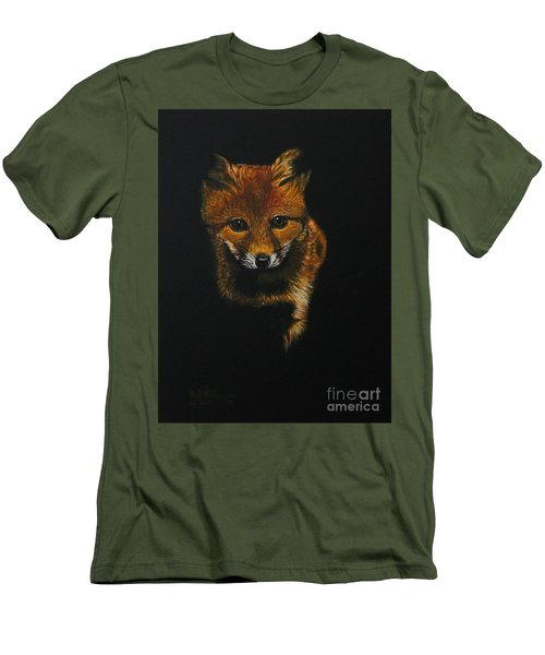 Into The Light......fox Kit Men's T-Shirt (Athletic Fit)