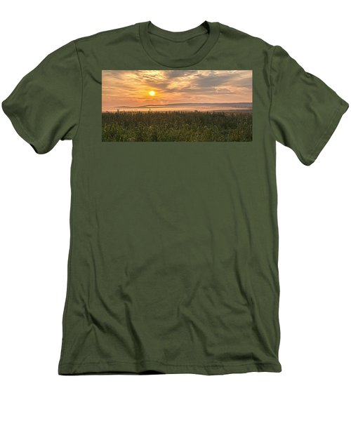 Into The Misty Sunrise Men's T-Shirt (Athletic Fit)