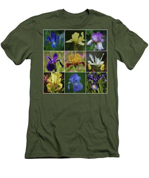 Iris Spring 2017 Collection Men's T-Shirt (Slim Fit) by Richard Cummings