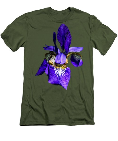 Iris Versicolor Men's T-Shirt (Athletic Fit)