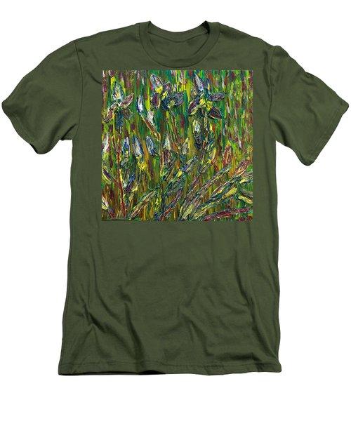 Irises Dance Men's T-Shirt (Athletic Fit)
