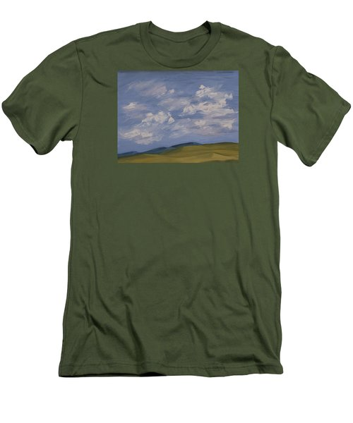 Irish Sky Men's T-Shirt (Athletic Fit)