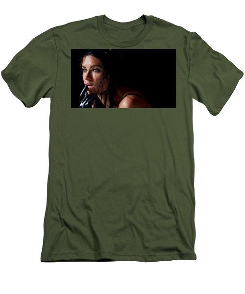 Isabeli Fontana Men's T-Shirt (Athletic Fit)