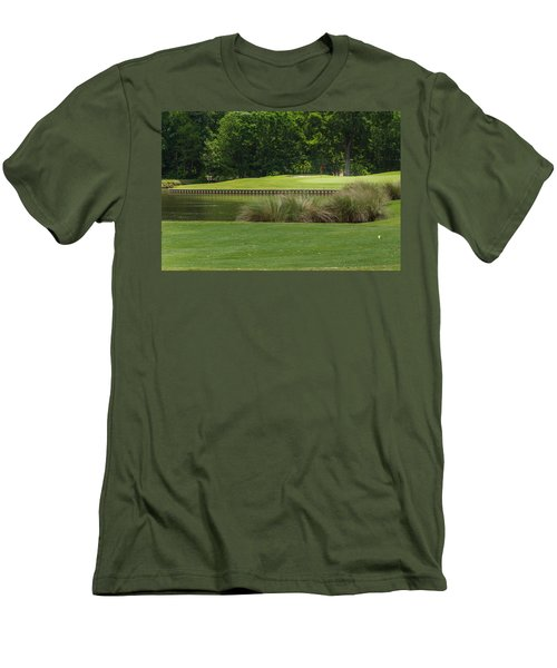 Island Green Men's T-Shirt (Athletic Fit)