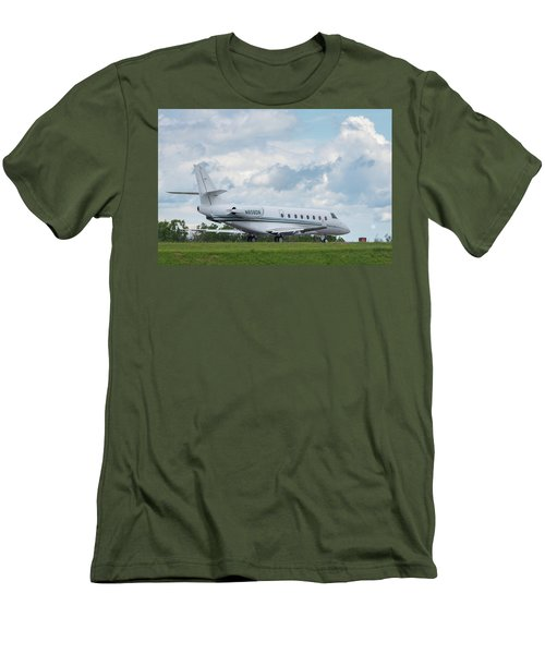 Men's T-Shirt (Athletic Fit) featuring the photograph Israel Aircraft Industries Galaxy 2 by Guy Whiteley
