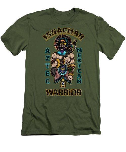 Issachar Aztec Warrior Men's T-Shirt (Athletic Fit)