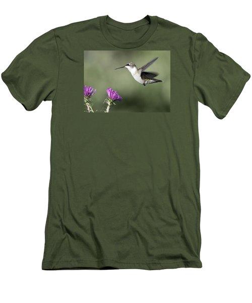 It Is A Small World Men's T-Shirt (Slim Fit) by Stephen Flint
