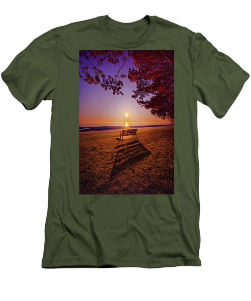 Men's T-Shirt (Slim Fit) featuring the photograph It Is Words With You I Seek by Phil Koch