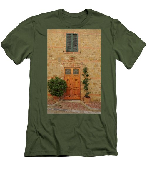 Italy - Door Nine Men's T-Shirt (Athletic Fit)