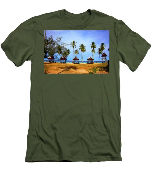 It's Real And Close Men's T-Shirt (Slim Fit) by Jez C Self