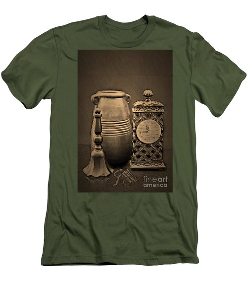 It's Time For... Men's T-Shirt (Slim Fit) by Sherry Hallemeier