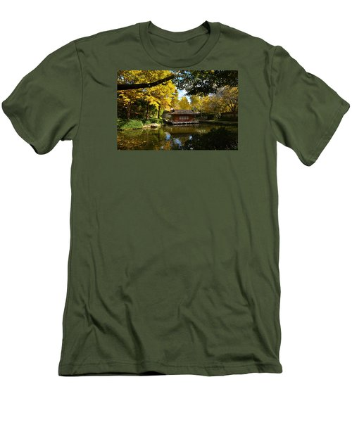 Japanese Gardens 2541a Men's T-Shirt (Athletic Fit)
