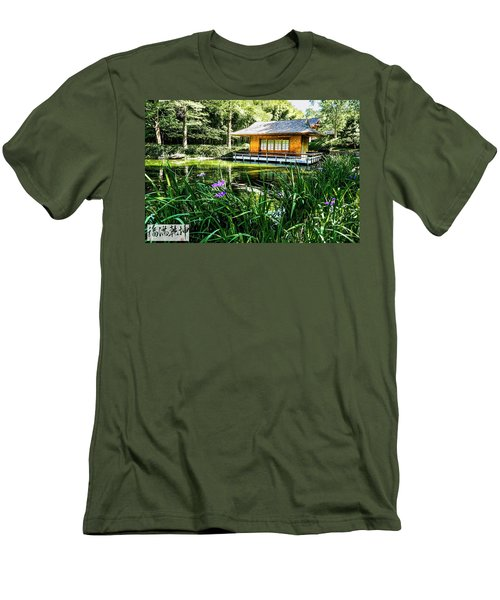 Japanese Gardens II Men's T-Shirt (Athletic Fit)