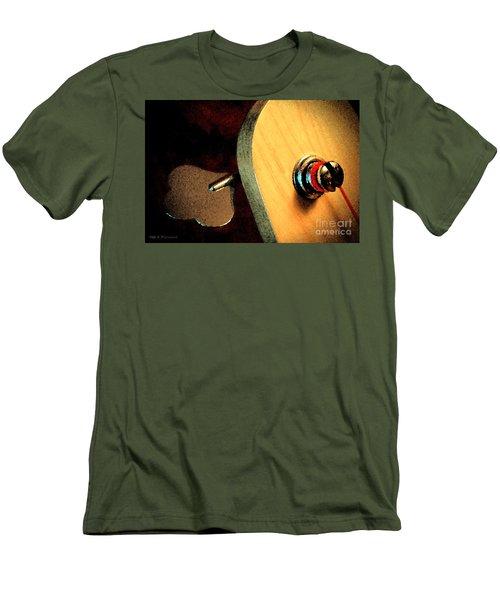 Jazz Bass Tuner Men's T-Shirt (Athletic Fit)
