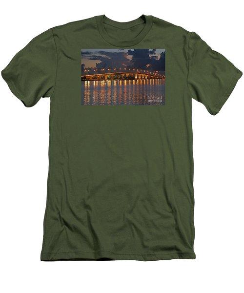 Jensen Beach Causeway Men's T-Shirt (Athletic Fit)