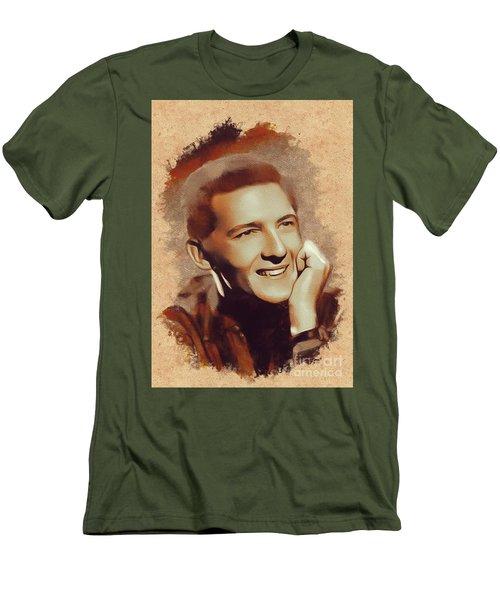 Jerry Lee Lewis, Music Legend Men's T-Shirt (Athletic Fit)