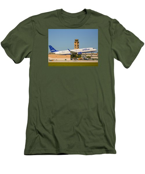 Jetblue Men's T-Shirt (Athletic Fit)