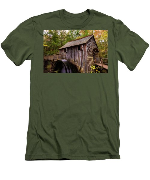 John Cable Grist Mill II Men's T-Shirt (Athletic Fit)