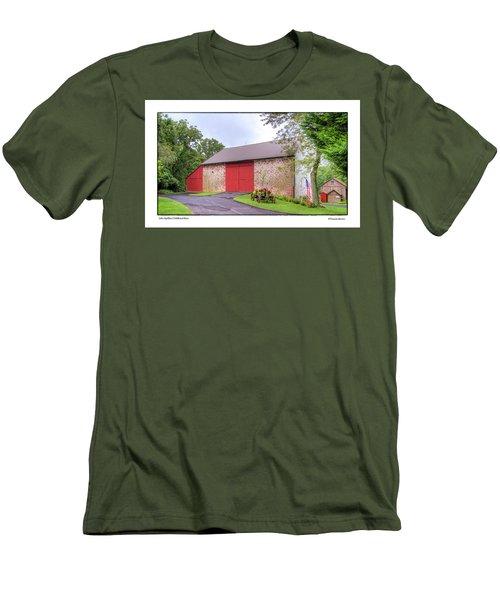 John Updike's Childhood Barn Men's T-Shirt (Slim Fit) by R Thomas Berner