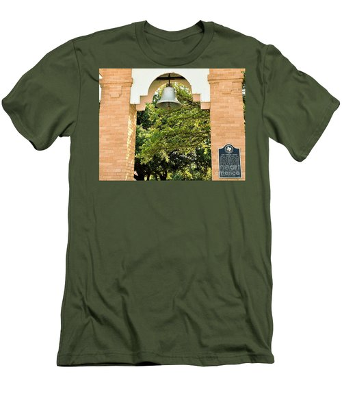 Men's T-Shirt (Slim Fit) featuring the photograph John Wheeler Bunton Historic Memorial by Ray Shrewsberry