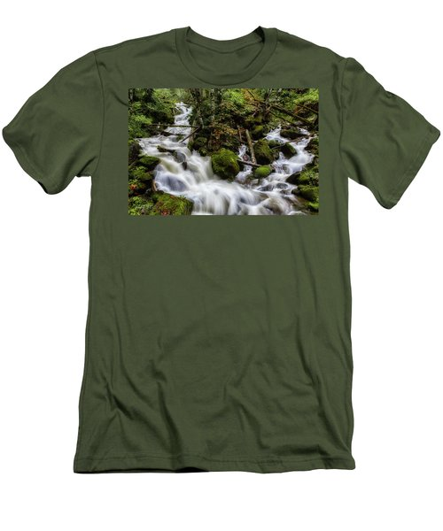 Joining Forces Men's T-Shirt (Slim Fit) by Charlie Duncan